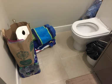 Safe Room Bathroom